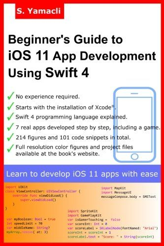 29 best ios books images on pinterest beginners guide to ios 11 app development using swift 4 xcode swift and app fandeluxe Gallery