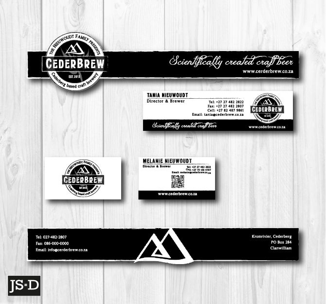 Corporate Stationery for Ceder Brew