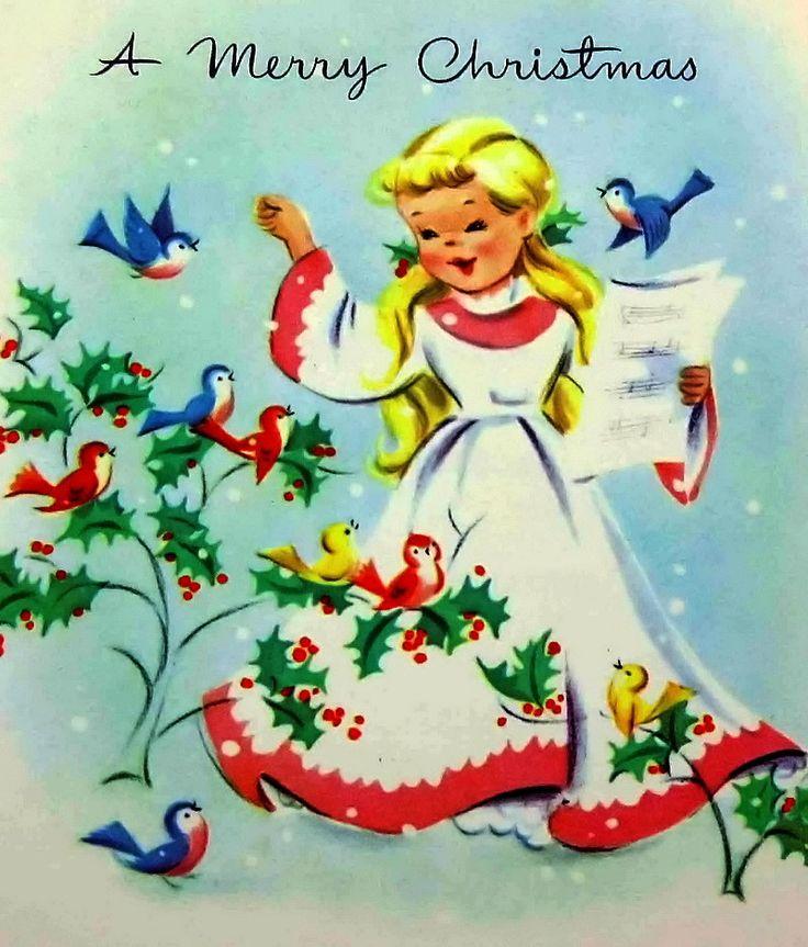 Открытки, игра рождественская открытка