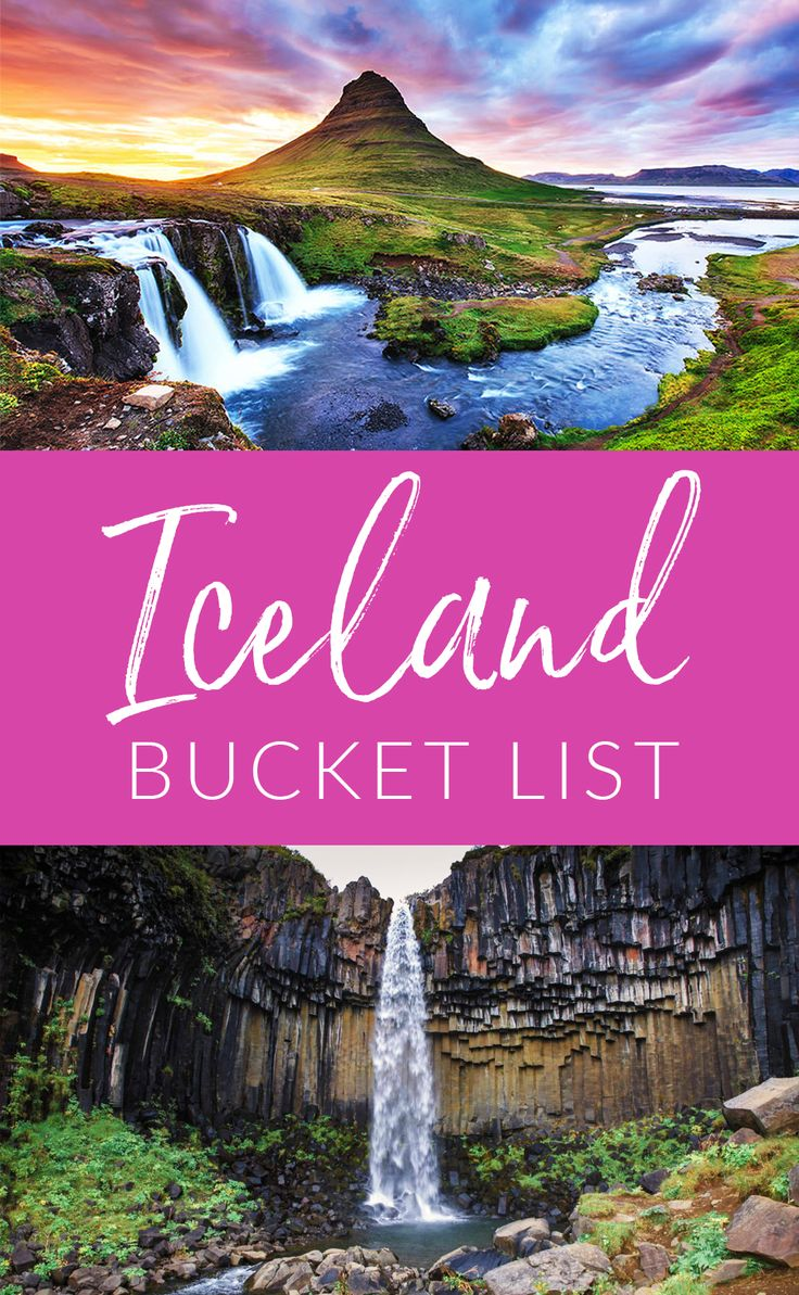 Iceland, the land of fire and ice, has been on my bucket list for a long time! Now that we are going, I'm sorting through my wish list to find the best things to do in Iceland. #iceland #travel