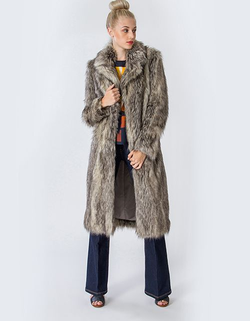 Maxi faux fur