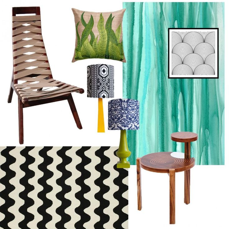 Colacabana - Rio inspired interiors with Discern Living  #discernliving