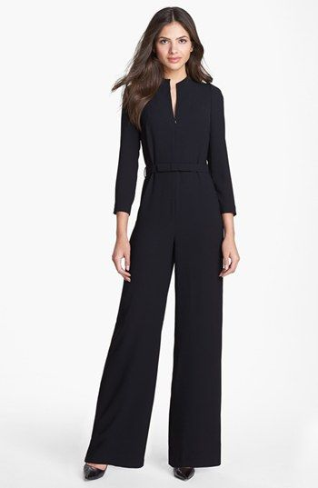 Ted Baker London Belted Jumpsuit available at #Nordstrom