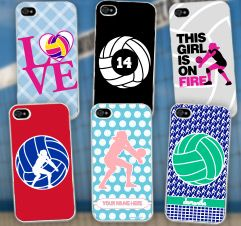 Volleyball Gifts these are all so cute! #iphonecases #vballeverything