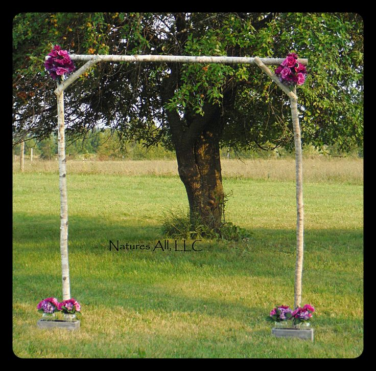 Rustic Outdoor Wedding Arch/Aspen Wedding Arch/Rustic Wedding Arch Ideas/Country Wedding Arch/Shipping Included: Item# AWA-5000 by NaturesAllLLC on Etsy https://www.etsy.com/listing/245977796/rustic-outdoor-wedding-archaspen-wedding