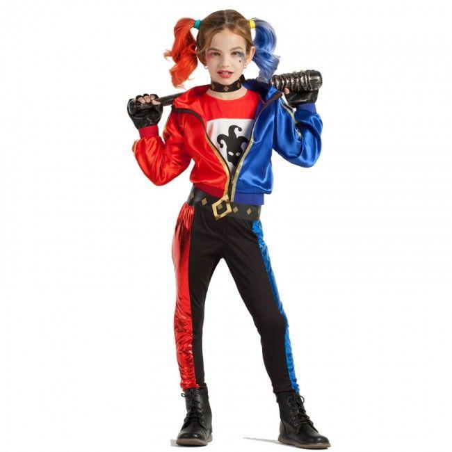 Disfraz de Harley Quinn niña #disfraces #carnaval #novedades2017