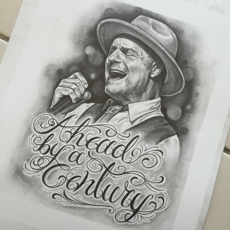 Gord Downie pencil portrait by Whitney Thompson. Prints Available