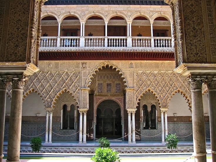 Alcazar Palace, Seville Spain