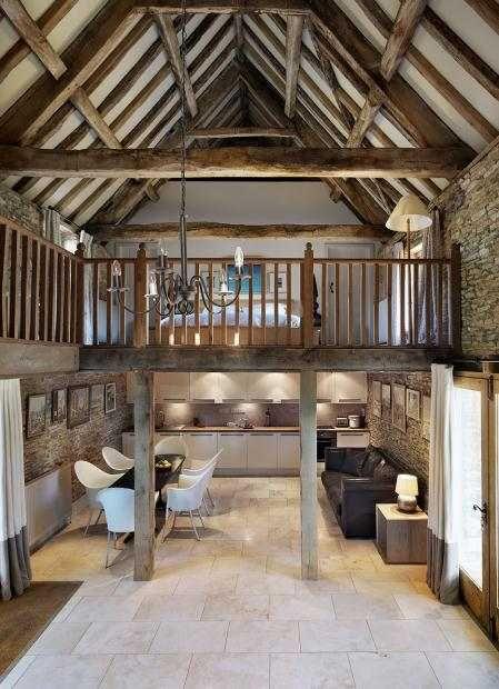Старинный дом в Англии | Пуфик - блог о дизайне интерьера