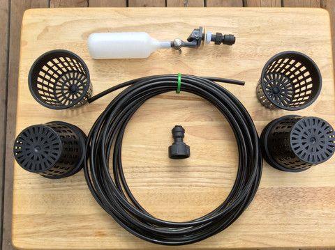 The Ultimate Rain Gutter Grow System Starter Kit 3 8 Inch