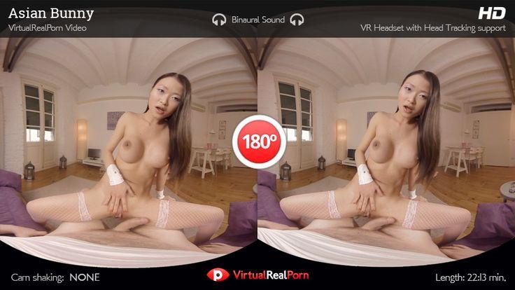 Hot VR porn movie Asian Bunny from VirtualRealPorn