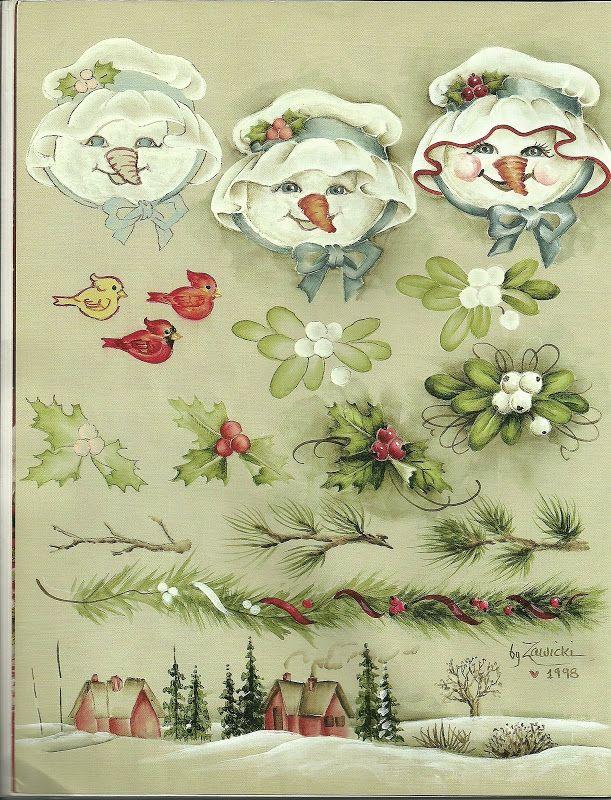 Christmas Snowmen & more - Crista Seibal - Picasa Web Albums
