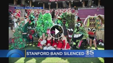 Stanford Band Fights Back Against Ban: The Stanford Band has been silenced, but members are fighting back. Jessica Flores reports.…