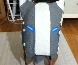 Make a Spiral Knights Wolver Helmet