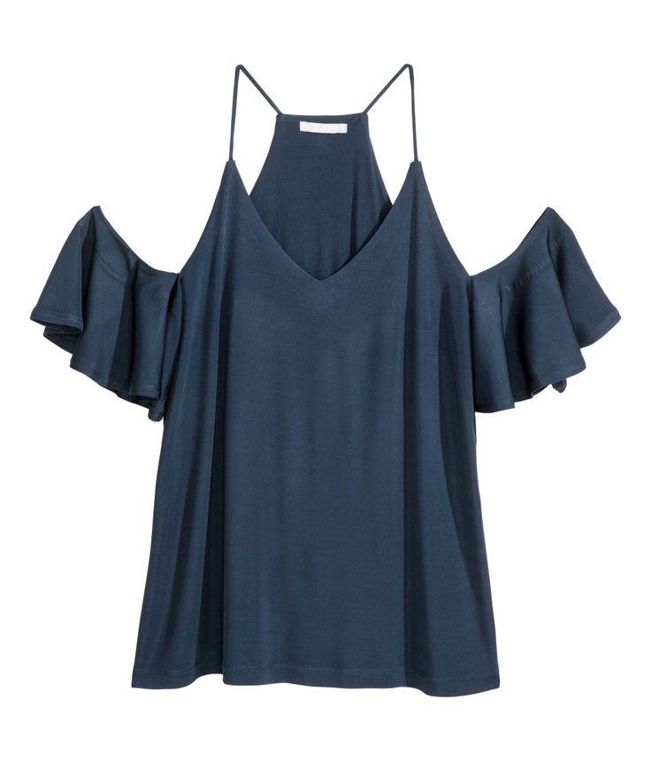 Open-shoulder Top | H&M Modern Classics
