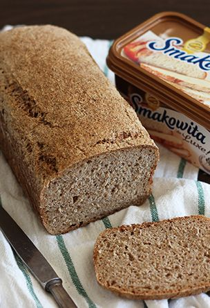 prosty chleb orkiszowy na zakwasie | Smakowity chleb