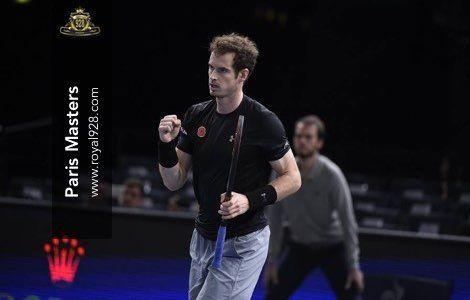 Agen Bola - Andy Murray petenis Inggris peringkat 3 dunia berhasil melangkah ke partai final turnamen tenis Paris Masters setelah menundukkan David Ferrer di babak semi-final pada pertandingan yang baru saja berakhir di AccorHotels Arena.
