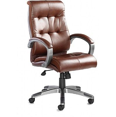 Catania Managers High Back Leather Chair