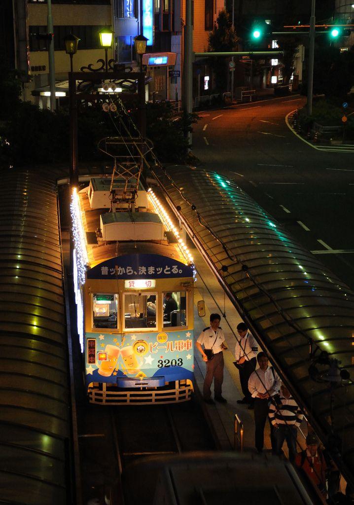 Toyohashi city tram, Aichi, Japan