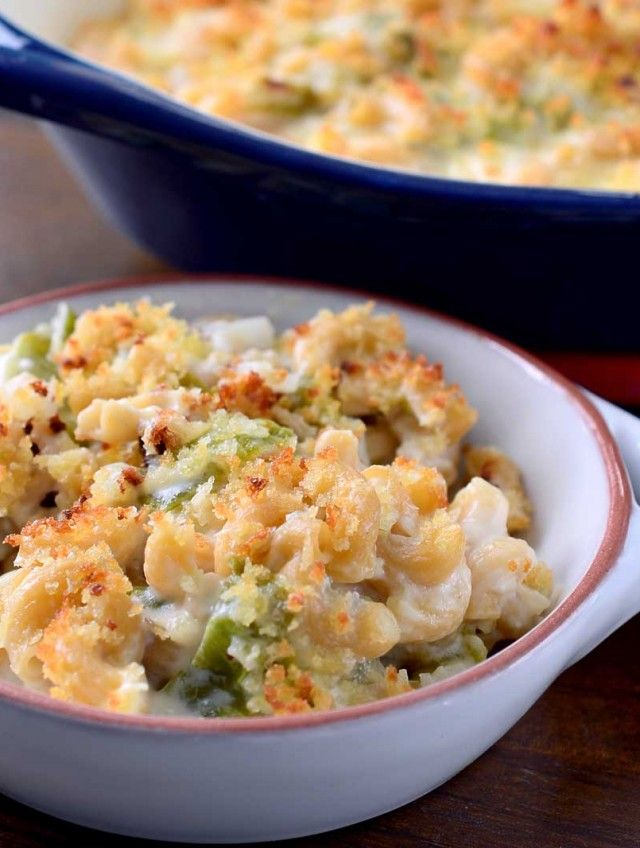 Roasted Hatch Chile Mac n' Cheese Recipe.  I think this one is my favorite.  It looks simple and I like the cheeses.