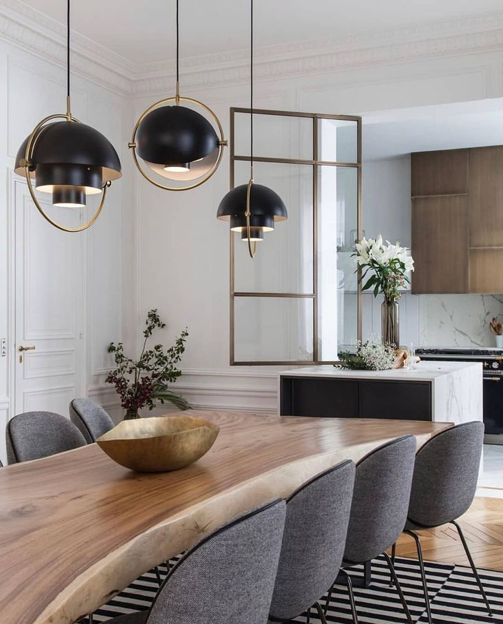 Multi Lite Pendant In 2021 Modern Dining Room Dining Room Interiors House Interior Dining room design ideas 2021