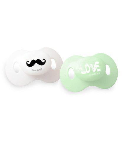 Dummy - Mustache LOVE – Baby Luno