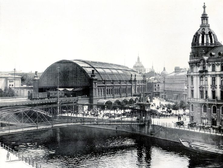 Bahnhof Friedrichstraße, Berlin ~1900