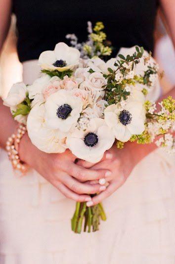 White poppies!