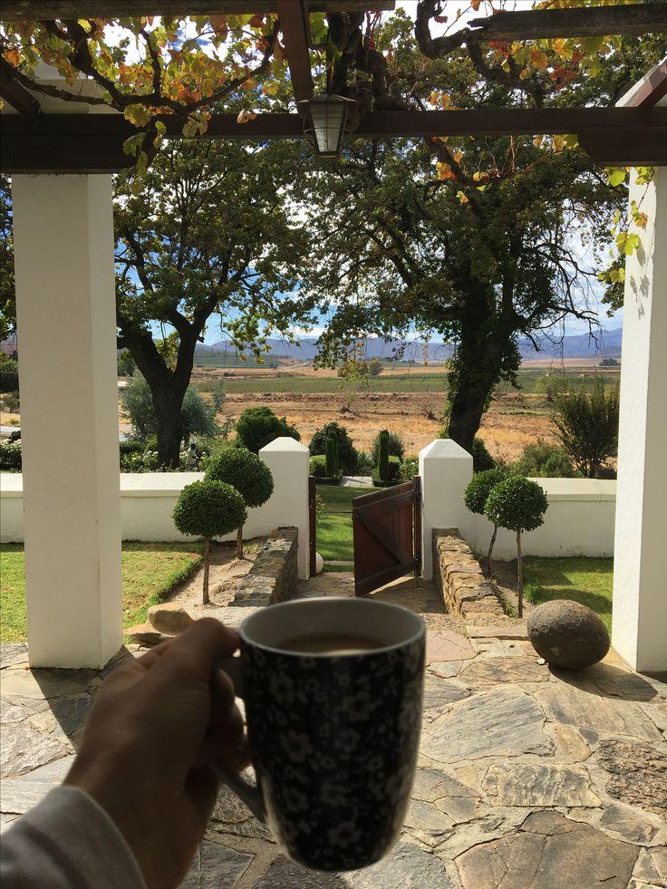 Boplaas, Koue Bokkeveld, South Africa  Morning views☕️