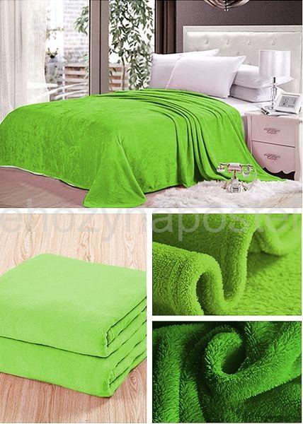 Deky hráškově zelené barvy