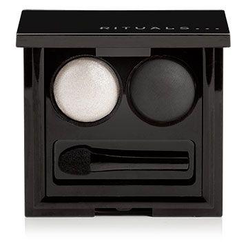 Baked eye shadow - Black & White Pearl