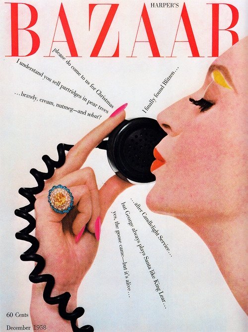 Bazaar Dec 1958, Alexey Brodovitch