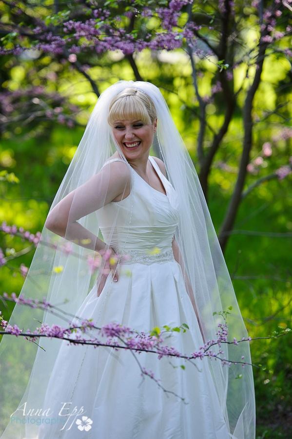 Monica, Ottawa Wedding, Summer 2012, Alyne Bridal by RIVINI - Ashton Station Bridal. Photo Anna Epp Photography.