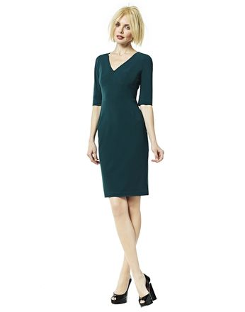 Ladress - een moie groene jurk staat ook al tijden op mijn verlanglijstje - Bettev