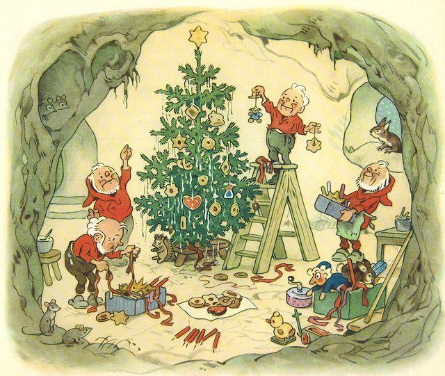 Fritz baumgarten weihnachtsfest im wichtelland bild 11 for Baum garten