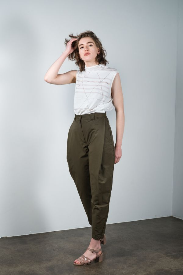 We're obsessed with these Rachel Comey balloon pants and their total old-man vibes.