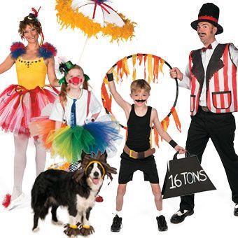 Circus Family Costume Image