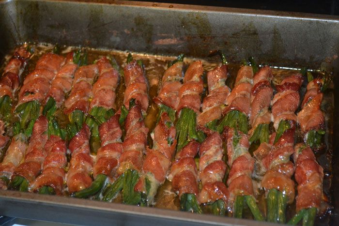Finally - my bacon wrapped green beans recipe!
