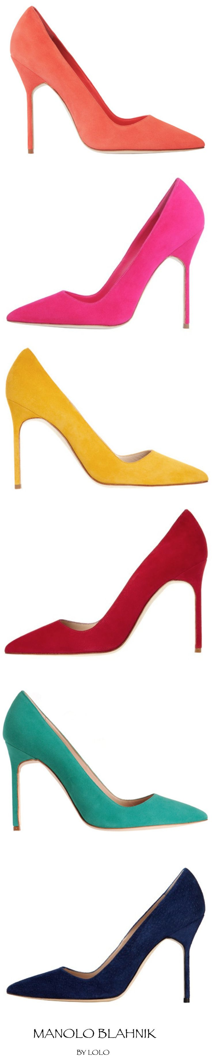 Yes, I would like one of each please.  Manolo Blahnik...pick your color!