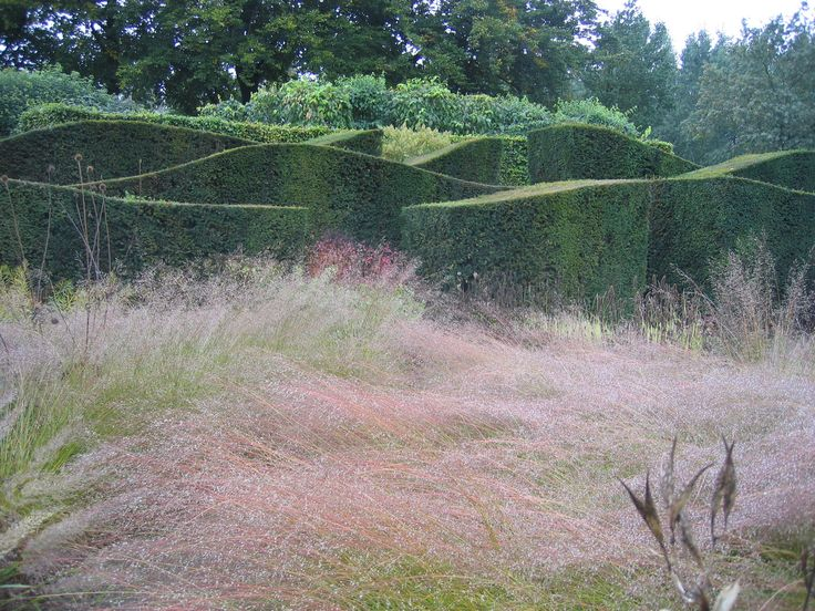 Piet oudolf hummelo structure hedges topiary and lines for Piet oudolf landscape architect