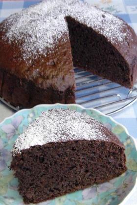 ノンオイルで簡単♪おから☆チョコ・ケーキ