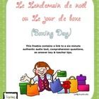 This set of 10 comprehension questions is written in French, and includes some multiple choice and some short answer. It is based on a freely avail...