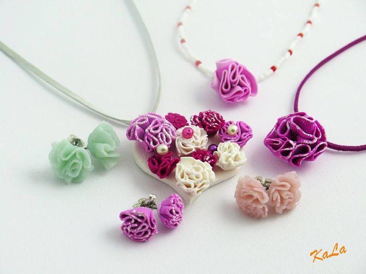 Kamila Lajčáková - šperky z polymerové hmoty podle workshopu Hany Auterské