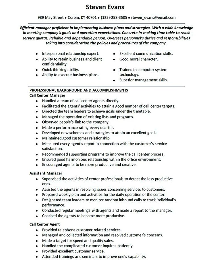 relevant work experience on resumes