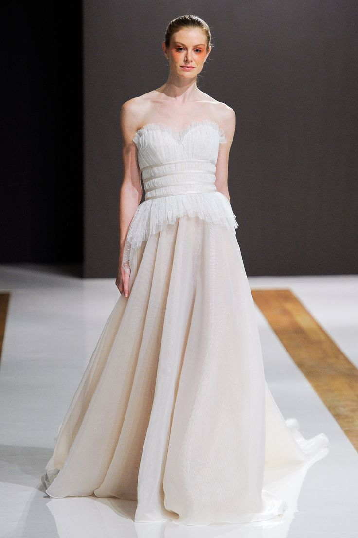 Perfect The best Peplum wedding dress ideas on Pinterest Peplum style wedding dresses Peplum gown and Elegant evening gowns