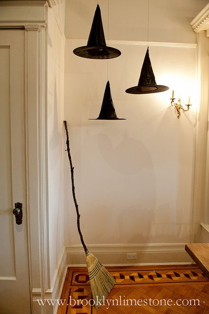 Floating witches hats..LOVE