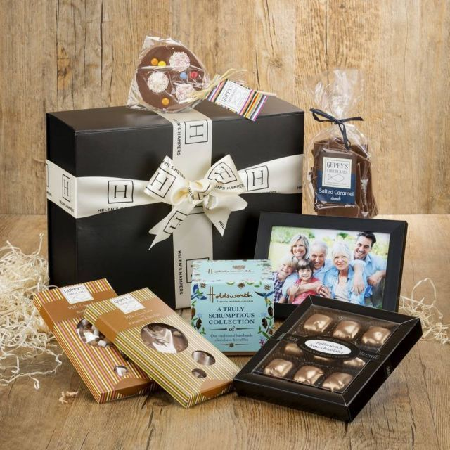 Helen's Hampers Personalised Chocolate Hamper | Hilary Rhodes on WeShop