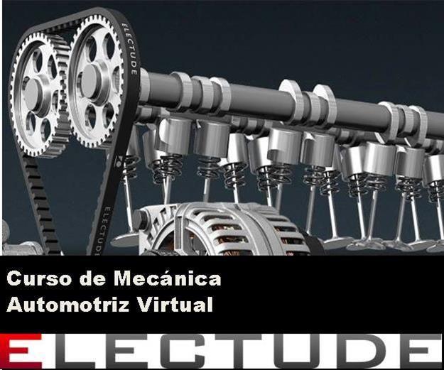 Electude - Plataforma de aprendizaje virtual de Ingeniería mecánica automotriz.