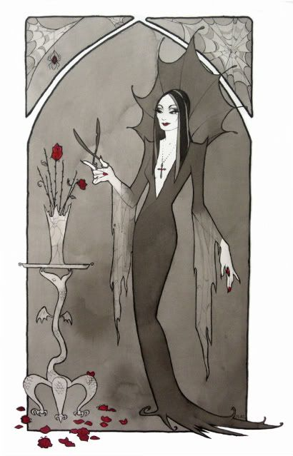 Morticia by ~ Maryanneleslie goth girl