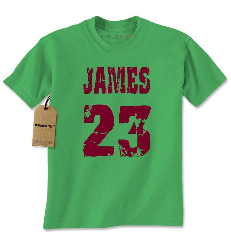 James 23 Cleveland Basketball Mens T-shirt